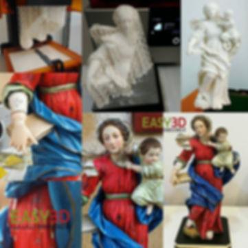 Scansioni 3d e riproduzioni 3d Repliche e copie 3d Statue 3d Busti 3d - Easy 3D Shop Lab Stampa 3d Palermo