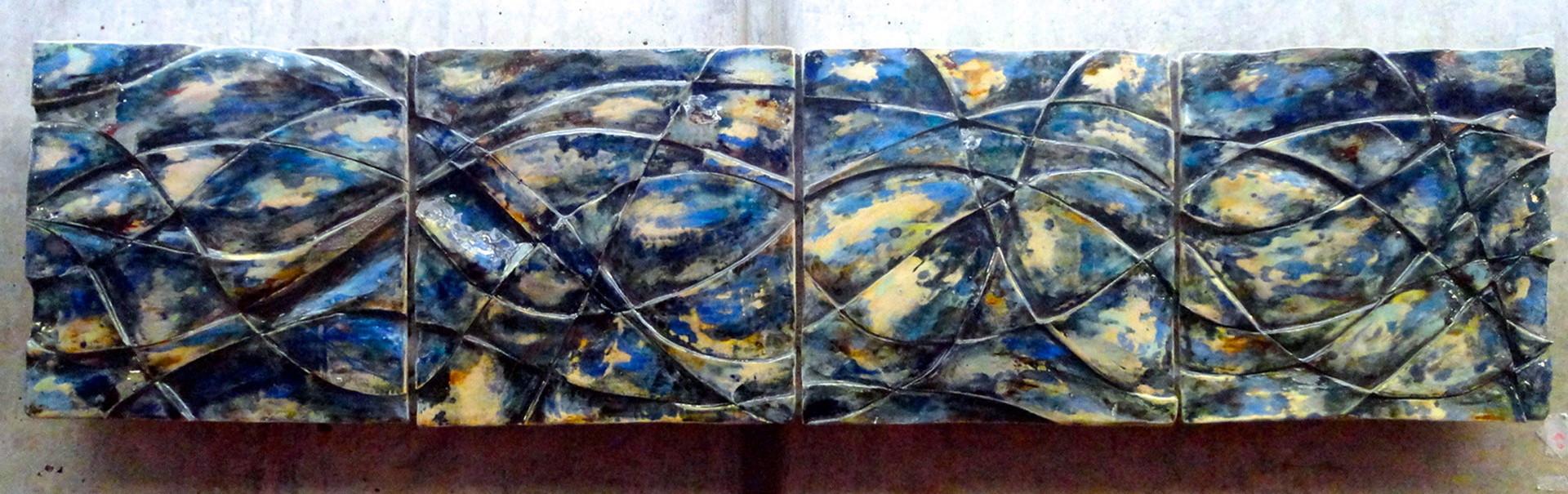 Full ceramic relief piece