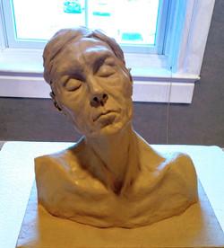 20'' oil clay bust