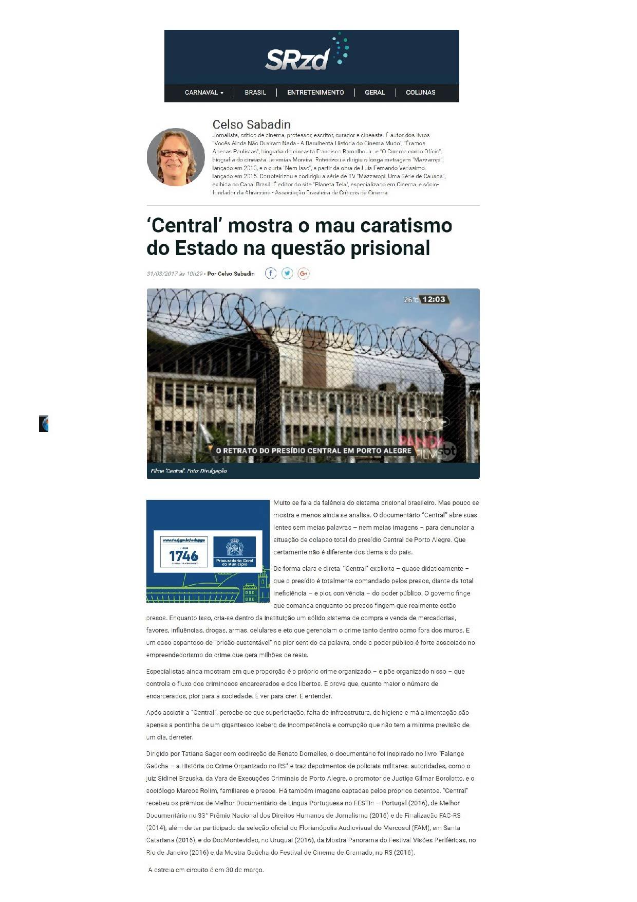 Celso Sabadin | SRZD | 31.03