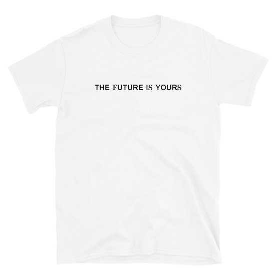 """PLAYERA/T-SHIRT """"The future is yours"""" by R3AL"""