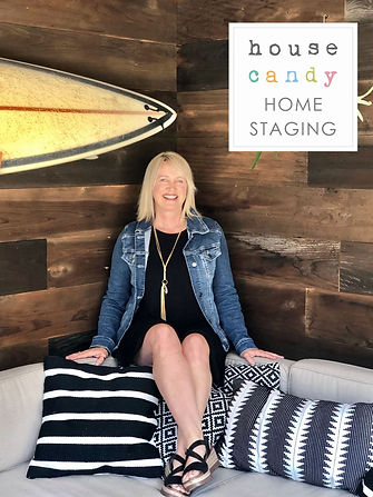 Photo of Ashley Tapley Home Stager, cin Santa Cruz Countylor consultant, home stylist, interior decorator, luxury staging, vacation rental staging in Santa Cruz County