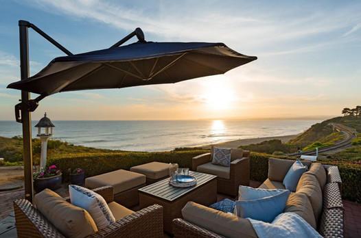 Coastal Home Outdoor Staging La Selva Beach