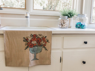 Laundry Staging and Color Consultation