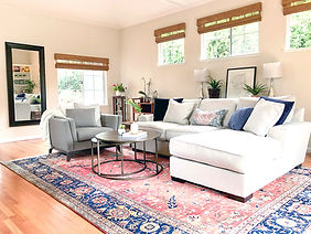 interior styling client living room