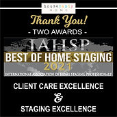 2 Best of Home Staging Awards