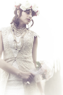 Custom Vintage Lace Vest