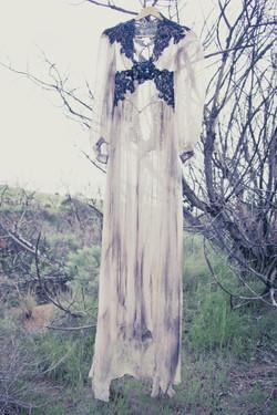 Custom Vintage Wedding Dress