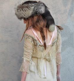 Custom Vintage Lace Wedding Dress