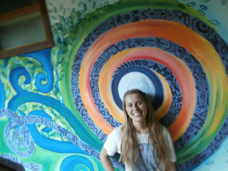 Tena, Ecuador Mural – The Amazon!