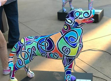 """Dogs of Danville"" Public Art Installation"