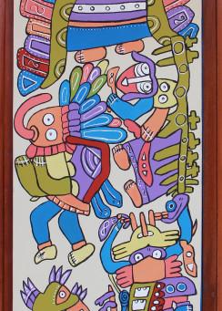 Incan Mural of Peru