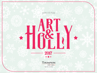 SOY CREATIVE AT THE ART & HOLY HOLIDAY SHOPPE