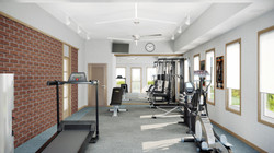 Manor House Community Building- Fitness Room