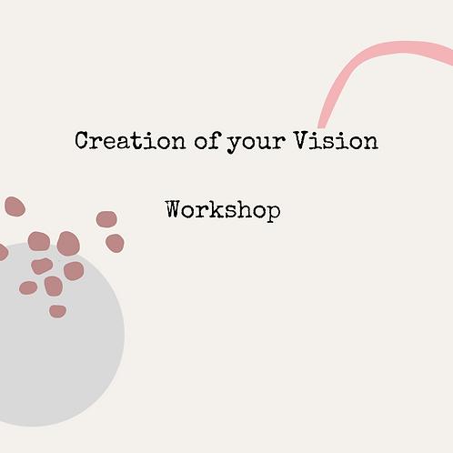 Creating Your Vision  Workshop