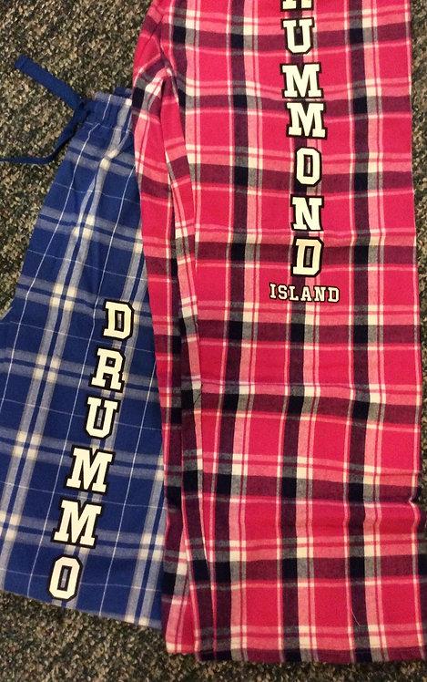 Adults Drummond Island Flannel Pants