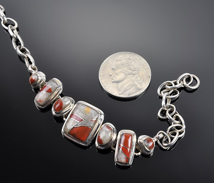 Puddingstone Bracelet -N1101
