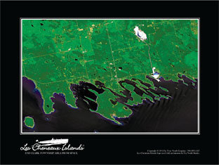 Les Cheneaux Islands from Space-506