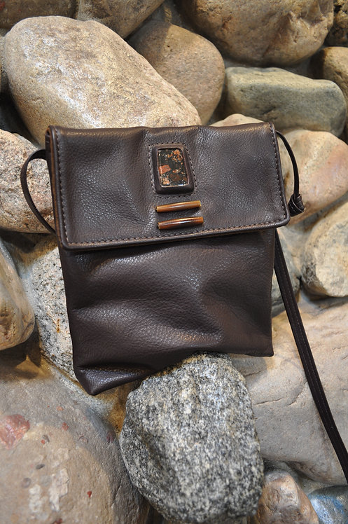 Handcrafted Leather Bags - style 10 harmony cognac