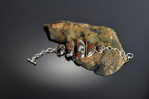 Puddingstone Bracelet -207