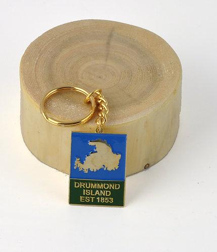 Drummond Island Keychain- 603