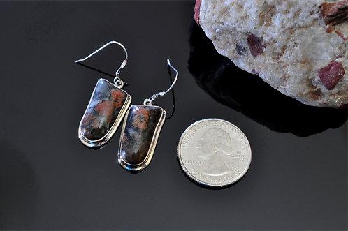 Gowganda Tillite   Earrings -J3420