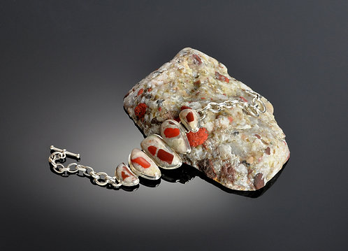 Puddingstone Bracelet -206