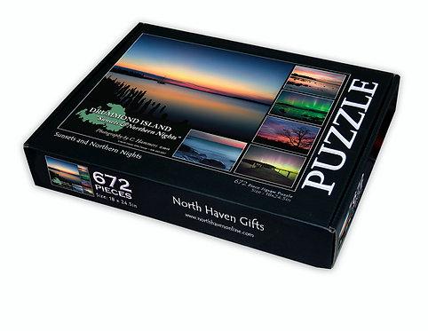 Drummond Island Puzzle- Sunsets & Northern Nights
