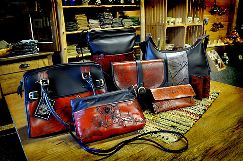 Drummond Island Leather Bags