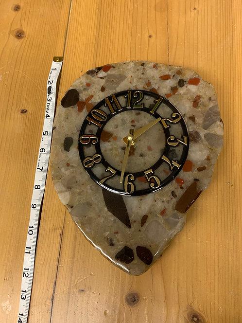 Puddingstone Clock 45 - Large