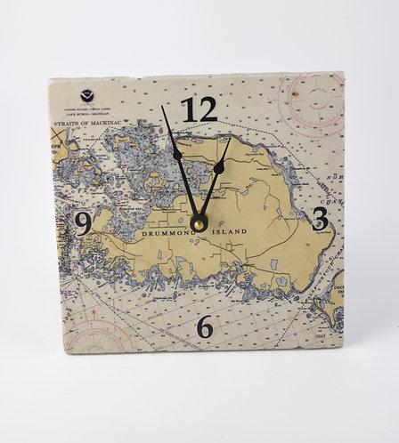 NOAA Map Clock-611