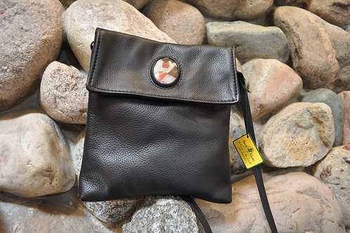 Handcrafted Leather Bags - style 13 harmony vertical stone