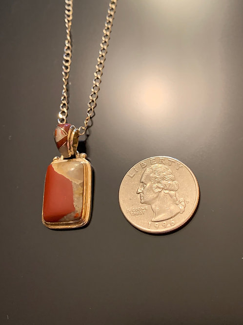 Puddingstone Pendant -17