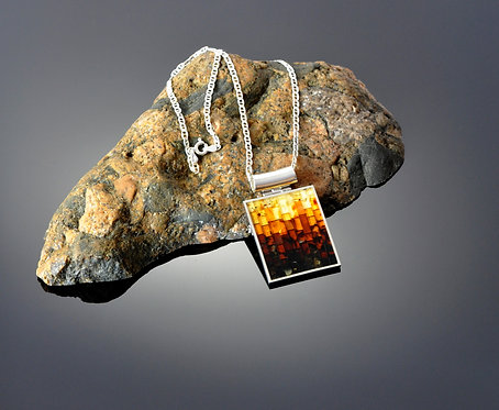 North Haven Gifts-Amber Window Pendant- 404