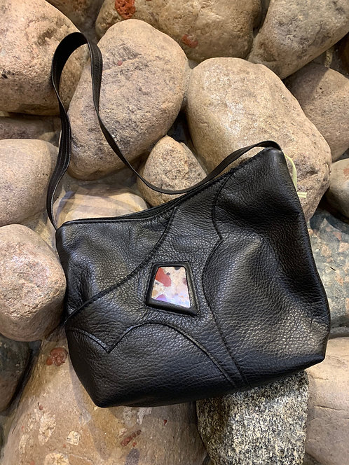 Handcrafted Leather Bags - style 6 black