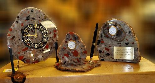 Drummond Island Clocks and Desk Sets
