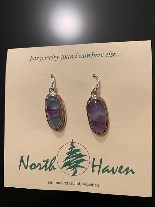 Flourite Earrings #1