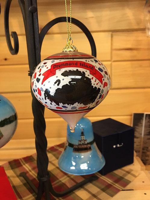 New Drummond Island Christmas Ornament- Puddingstone