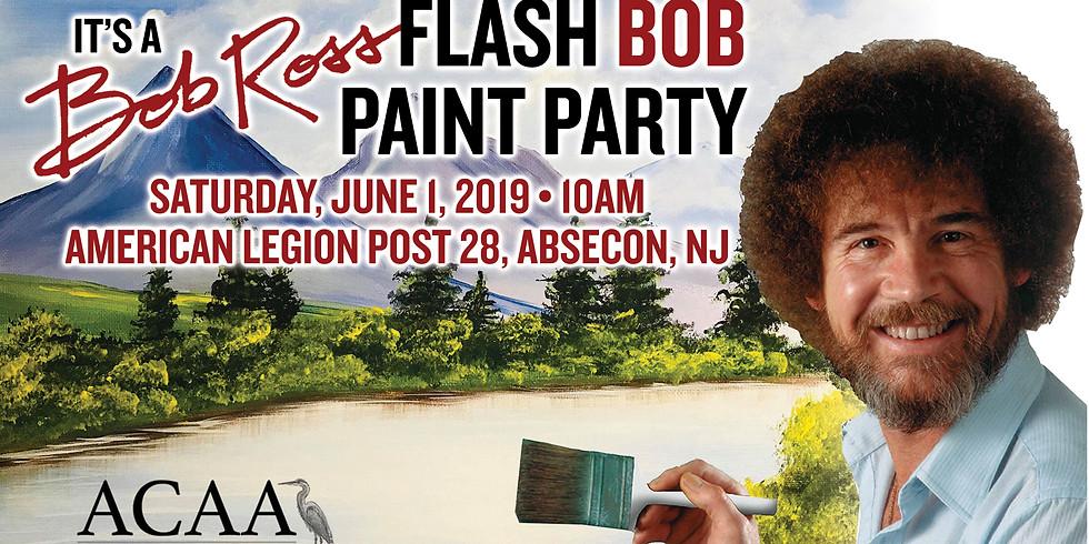 Flash Bob • Bob Ross Paint Out (1)