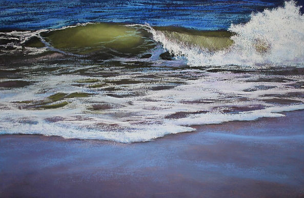 Painting Seascapes in Pastel With Renee Leopardi