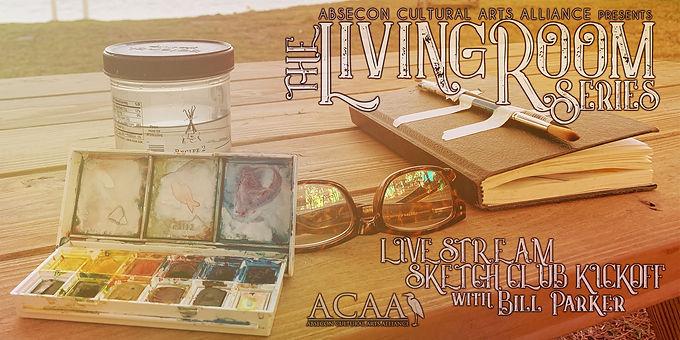 ACAA Presents: The Living Room Series-Sketch Club Kickoff