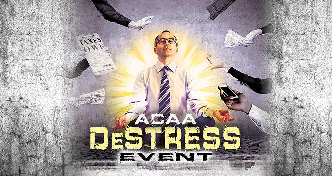 February ACAA DeStress Event 2021