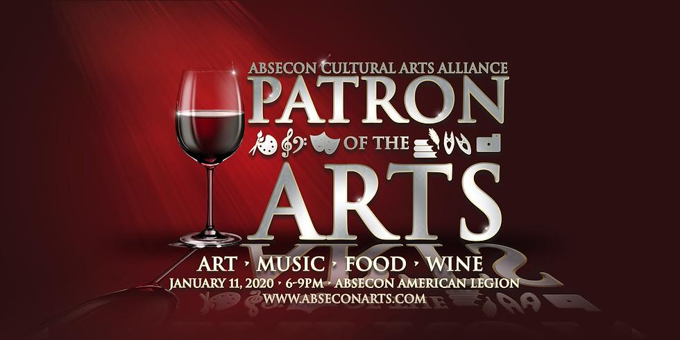 2020 ACAA  PATRON OF THE ARTS