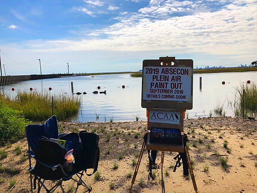 Absecon Plein Air Paint Out 2019