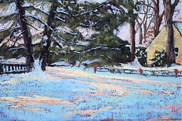 Painting Snowscapes in Pastel With Renee Leopardi