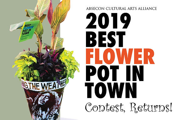 2019 BEST FLOWER POT IN TOWN Contest Lawn Party