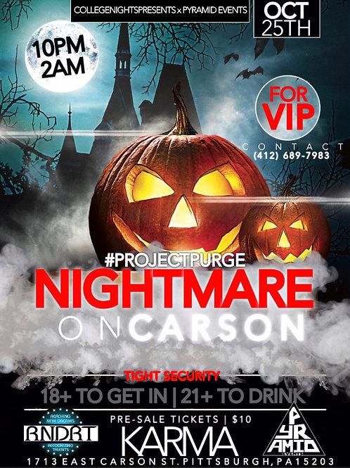 Nightmare on Carson