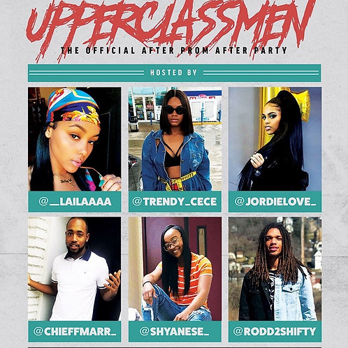 """""""Upperclassmen"""" Official After Prom Party"""