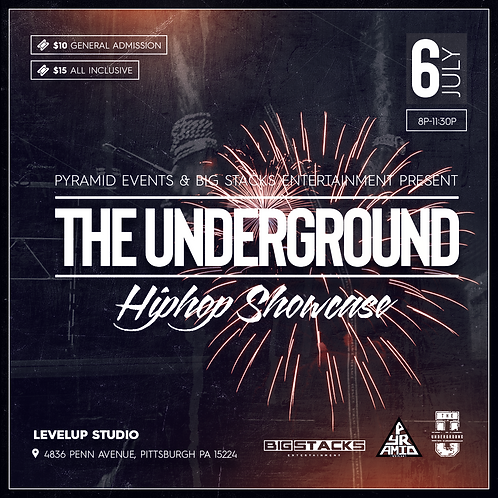 Admission Tickets | PyramidPGH presents TheUnderground