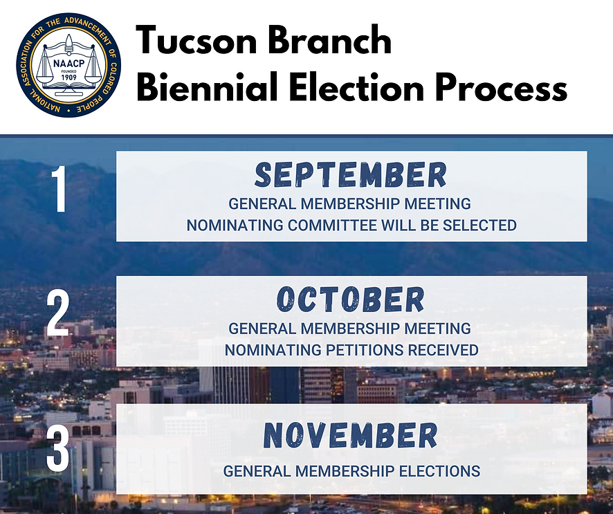 Tucson Branch Biannual Election Process-